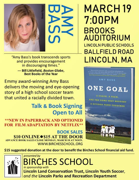 "Amy Bass - Author of ""One Goal"""